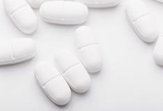 White drugs Royalty Free Stock Image