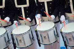 White drums Royalty Free Stock Photography