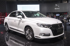 White ds 5ls car Stock Photos