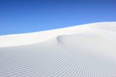 White dune stock photography