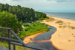 White Dune, Latvia Royalty Free Stock Photos