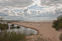 White dune near Riga, Latvia Royalty Free Stock Photography