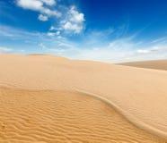 White  dunes on sunrise, Mui Ne, Vietnam Stock Photography