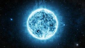 White Dwarf Star stock video footage