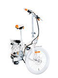 White e-bike Stock Photography