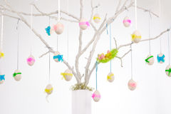 White easter tree Royalty Free Stock Photography