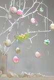 White easter tree Royalty Free Stock Images