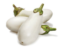 White eggplant Stock Photo