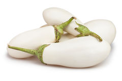 White eggplant Royalty Free Stock Images