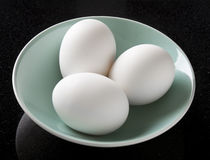 White Eggs Stock Photography