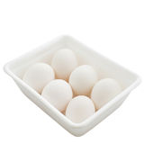 White eggs Royalty Free Stock Photos