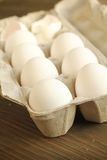 White eggs Stock Photography