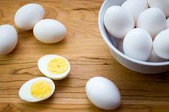 White eggs Royalty Free Stock Photos