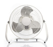 White Electric Fan Royalty Free Stock Photography