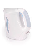 White electric kettle (Clipping path) Royalty Free Stock Photo