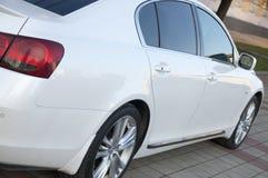 White elegant car Stock Photos