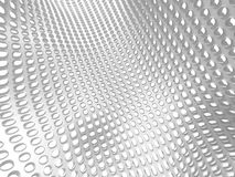 White Elegant Doted Cubes Background Royalty Free Stock Images