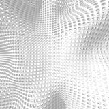 White Elegant Doted Cubes Background Royalty Free Stock Photo