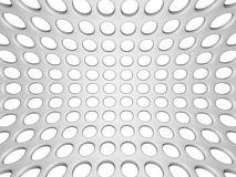 White Elegant Doted Wall Background Royalty Free Stock Photography