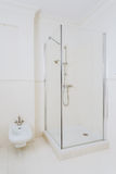 White elegant shower room Stock Photo