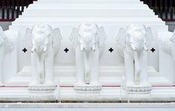 White elephant stucco. Royalty Free Stock Images