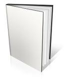 White empty book template Stock Photos