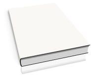 White empty book template Stock Image