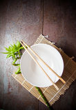 White empty bowl Royalty Free Stock Images