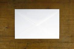 White empty envelope Stock Photography