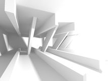 White empty interior. Abstract architecture background Royalty Free Stock Photo