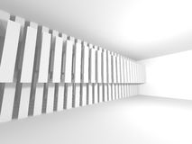 White empty interior. Abstract architecture background Stock Photography
