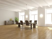 White empty interior concept for house Royalty Free Stock Photo