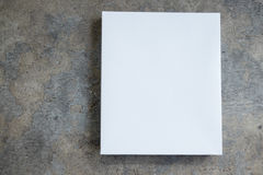 White empty packing cardboard box Royalty Free Stock Photo