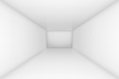 White empty room Royalty Free Stock Photo