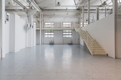 White empty room at Yoga Festival 2014 in Milan, Italy Royalty Free Stock Photos