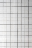 White empty tile wall in bathroom Royalty Free Stock Photos