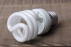 White Energy Saving Lamp Royalty Free Stock Image