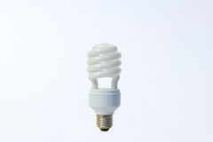White energy saving lamp Stock Image