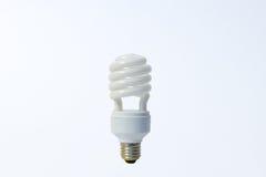 White energy saving lamp. Bulb lightbulb innovation Stock Image