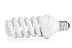 White energy saving lamp. isolated Stock Photo