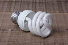 White Energy Saving Lamp Royalty Free Stock Images