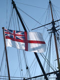 White Ensign flag Stock Image