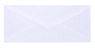 White envelope Royalty Free Stock Photo