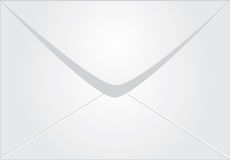 White envelope Stock Photography