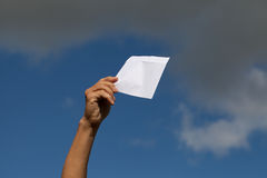 White envelope. Stock Images