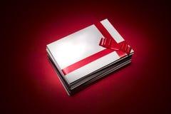 White envelope for christmas Stock Image