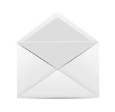 White Envelope Icon Vector Illustration Stock Image
