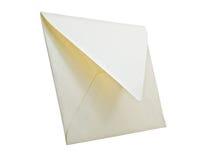 White envelope isolated. Stock Photos