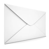 White envelope. Isolated render on a white background Stock Photography