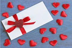 White envelope Royalty Free Stock Photos